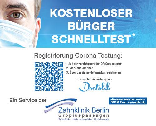 KOSTENLOSER BÜRGER SCHNELLTEST